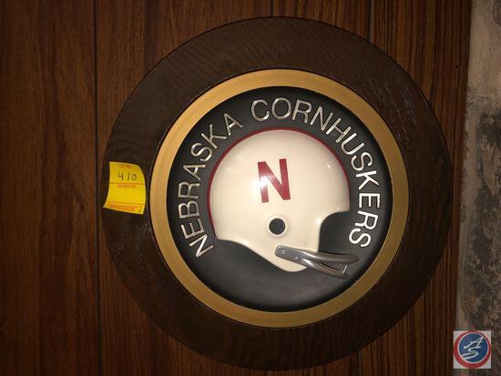 Nebraska Helmet Plaque