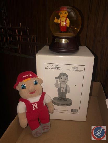 Collegiate Collectibles Lil' Red Nebraska 1st in Limited Series, University of Nebraska Lil' Red