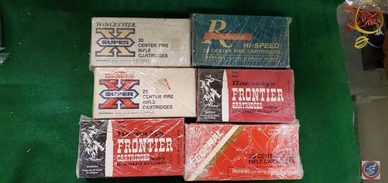 Federal 30-30, Frontier cartridges (2) 30-30,Remington HI Speed 30-30,Winchester Super ZX Shells