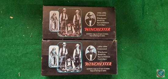 (2) Winchester 3030 shells in boxes