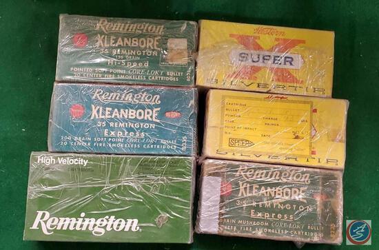 Winchester 10 ga shells, Remington 10 ga express boxes