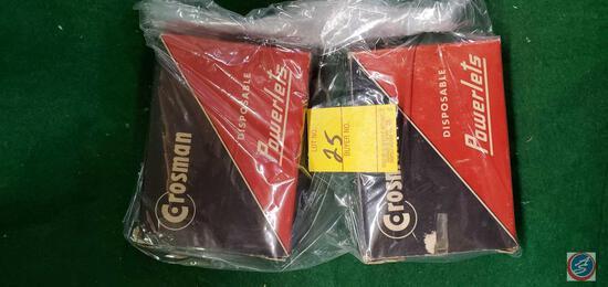 Crossman Disposable Powerlets boxes-have co2