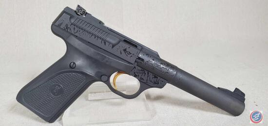 Browning Model Buck Mark 22 LR Pistol Semi-Auto Pro Target Camper Pistol New in Box. Ser #