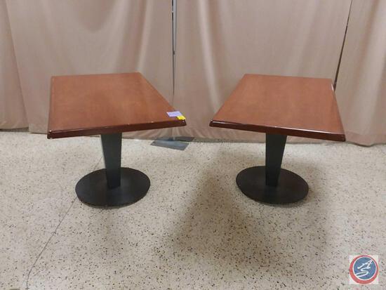 """{{2X$Bid}} 48"""" X 28"""" X 30"""" Wood Tables"""