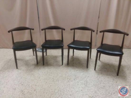 {{4X$Bid}} (4) Open Back Chairs Reg. No. CA 444520 CN