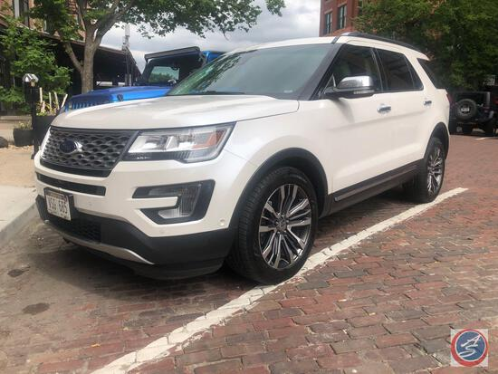 2016 Ford Explorer Multipurpose Vehicle (MPV), VIN # 1FM5K8HT4GGB26534