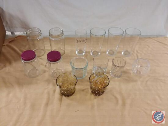 Mason Jars, Pint Glasses, Rocks Glasses, More
