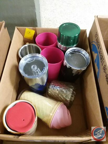 Thermos, Cups, Tumblers