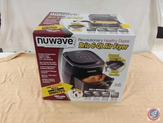 Nuwave Revolutionary Healthy Digital Brio 6-Qt Air Fryer