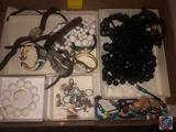 Ladies Jewelry Including Cardini and Timex