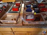 Monarch Plate Silverware, Electric Card Shuffler, Holiday plates and Dip Mix Set
