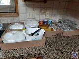 Disney Cups, Glasses, Pans, Kitchen Supplies