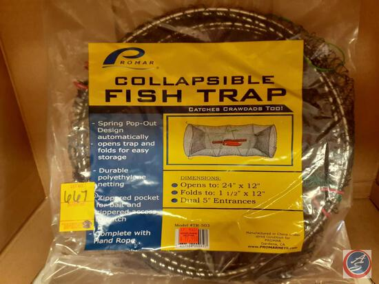"Promar Collapsible Fish Trap 24"" X 12"""