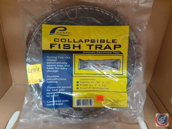 "Promar Collapsible Fish Trap 36"" X 12"""