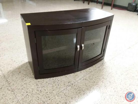 "Entertainment Stand w/ Cabinet w/ Two Shelves 43"" x 20"" x 27"""