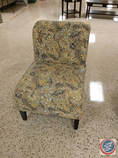 Upholstered and Padded Waiting Chair