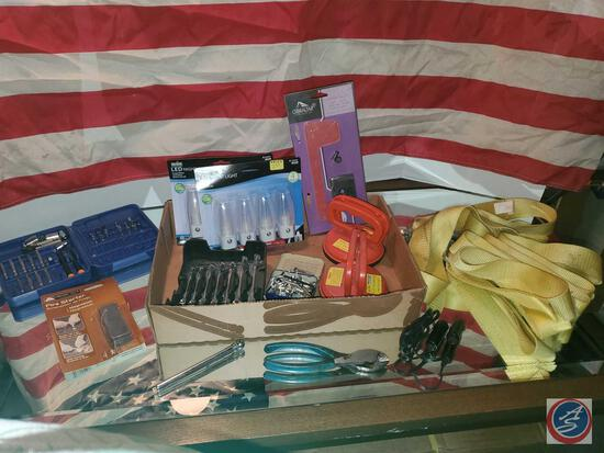 Tool and junk drawer lot