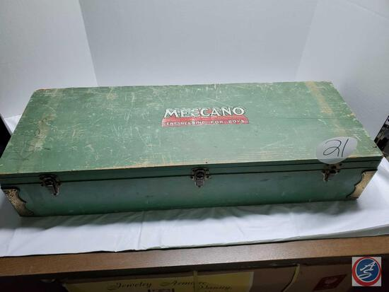 Vintage toy Meccano engineering for Boys Set