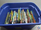 Tote of more recent childrens chapter books and early readers