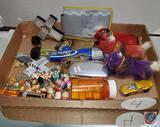 Mixed Lot of miniatures, bobblehead, and more