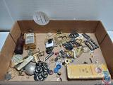 Vintage and antique jewelry and trinket lot