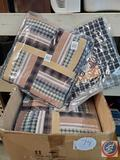 12 quilt squares new in bag