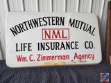 Northwestern Mutual Advertising Sign