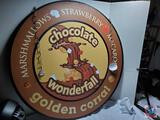 Large Golden Corral Chocolate Wonderfall Hanging Restaurant Sign