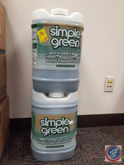 Simple Green Industrial Cleaner and Degreaser 5 Gallon (2)