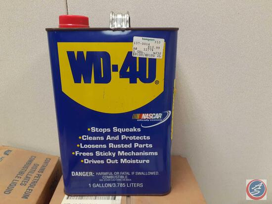 WD-40 Lubricant (6 Boxes of 1 Gallon, Plus 1 Extra)