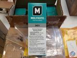 Molykote Dow Corning 3451 Chemical Resistant Bearing Grease 3451 NLGI Grade 2 Flourosilicone Base