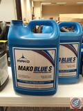 (2) Mako Blue S Synthetic Vacuum pump Oil
