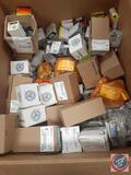 Lot contains various Appleton and EGS Sealtite Rigid EMT Unistrut Boxes Covers and More......