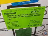 (21) Magnaflux Penetrant NDE Solvent Spotcheck SKL-SP2 Red Color Aerosol