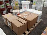 Firestone Lap Sealant HS (4), Firestone Splice Adhesive (2-3 Gallon Buckets and a 5 Gallon), EPDM