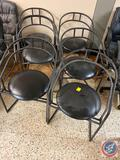 {{6X$bid}}(6) Upholstered Dining Chairs