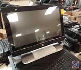 HP Beats Audio Touch Smart AiO PC, Dell Monitor, Steel Master Cash Drawer