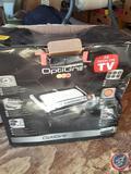 Optigrill {NEW in Box, Box has Damage}, Necchi Lydia 3 Sewing Machine w/ Case