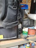 RCA ColorTrak 10'' Television, Hose Clamps, Wire Roll, Dillon Precision Products Back Pack, More