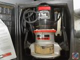 Sears Craftsman Router Double Insulated in Case w/ Instructions Model No. 315.17560