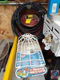 Lawn Trim Line, Assorted Electrical Wire, Ball Cap Mold
