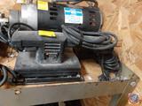 Black and Decker Finishing Sander Model No. 7448, Black and Decker Industrial Heavy Duty VSR Depth