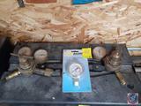 Radno Welding Products Pressure Gauge, (2) Fire Power Pressure Gauges