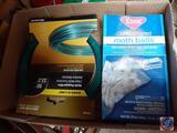 Moth Balls, Dand-O-Line Multi-Purpose Wire, 3 Piece Socket Holder Set, More