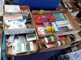 Plastic Anchor Kit, Sheet Metal Screws, Adjustable Magnetic Holder, Liquid Electrical Tape, Color