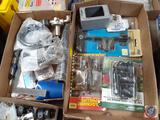 Orbit Hose Repair Kit, Lockhart Phillips Sport Bike Connection, Chrome Valve Caps, Electrical Box