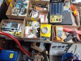 Sunpro Inductive Timing Light Model CP7504, Fluke Multimeter, Stanley 12' Lift Cables, General Screw