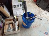 Sledgehammer, 4-Way, The Heft Shovel Extension, 5 Gallon Bucket, Bucket Heater Model No. 742G, Twine