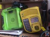 Ryobi One + Charge Center, Green Works Pro Charge Center