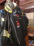 Leather Motorcycle Vest Size 5X, Detour Motorcycle Gear Leather Vest Size 5 X, Buffalo Leather Vest